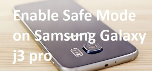 Enable Safe Mode on Samsung Galaxy j3 pro