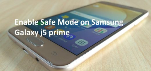 Safe Mode on Samsung Galaxy j5 prime